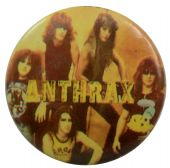 Anthrax - 'Group Yellow' Button Badge
